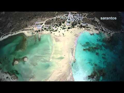 Elafonisi .... on top!!!!!!!!! Drone Video Creta