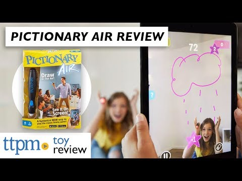 Pictionary Air 2019 New Game Review from Mattel