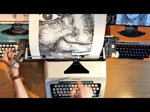 The Biggest Typewriter Art I've Ever Produced