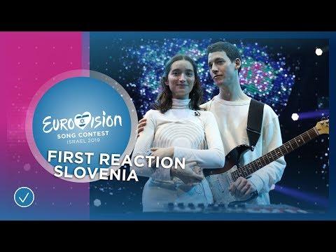 Zala Kralj & Gašper Šantl win the Slovenian 🇸🇮 ticket to Eurovision 2019 in Tel Aviv!