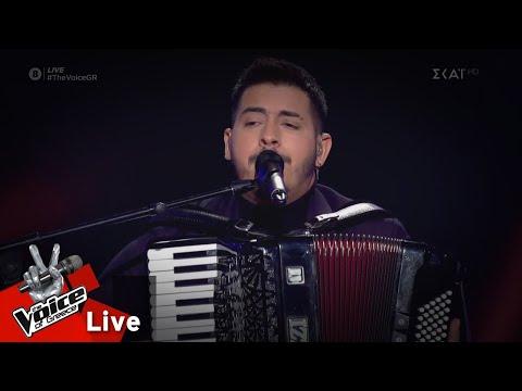 Μαρσελίνο Σερίφι - Για που το έβαλες καρδιά μου | 2o Live | The Voice of Greece