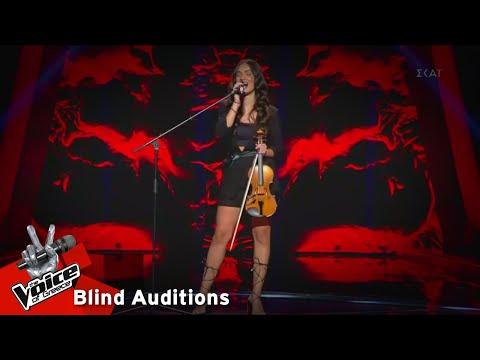 Ειρήνη Περικλέους - I put a spell on you | 5o Blind Audition | The Voice of Greece