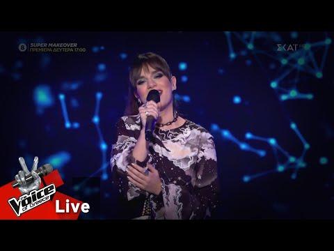Καλένα Κτίστη - Καράβι | 2o Live | The Voice of Greece