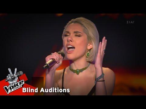 Ιωάννα Γεωργακοπούλου - It's a man's man's man's world   9o Blind Audition   The Voice of Greece