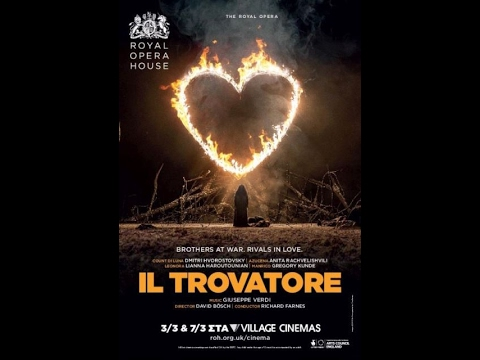 ROYAL OPERA HOUSE: IL TROVATORE (στις 03/03 & 07/03) - TRAILER