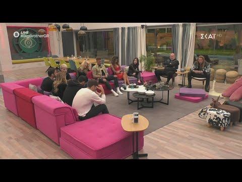 Big Brother   Ο Β.Β. ανακοινώνει το lockdown στους στους κατοίκους του σπιτιoύ   06/11/2020
