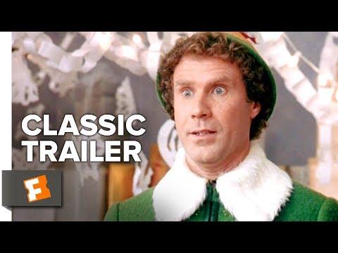 Elf (2003) Official Trailer #1 - Will Ferrell, Zooey Deschanel Christmas Movie HD