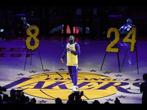 Los Angeles Lakers Pay Tribute To Kobe Bryant