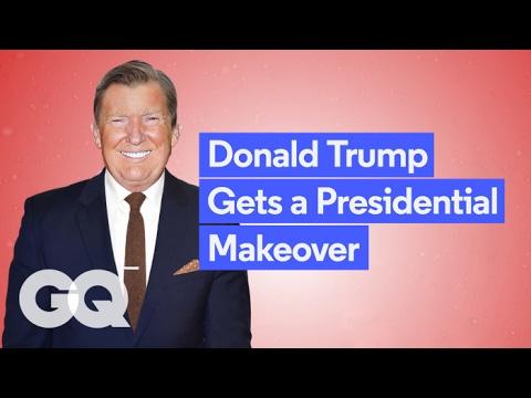 Donald Trump Gets a GQ Makeover