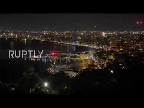 Italy: Fireworks explode over Naples as city celebrates Euro 2020 triumph