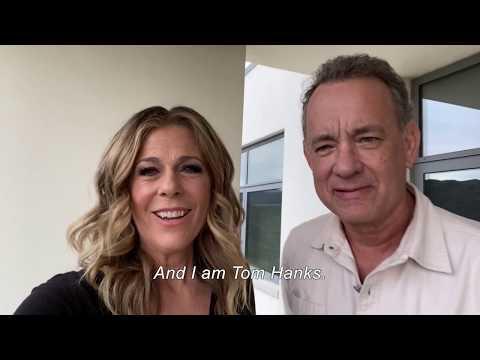Tom Hanks and Rita Wilson for Greece 2021