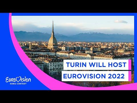 Turin will host Eurovision 2022 🇮🇹
