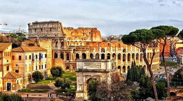 ρώμη η αιώνια πόλη