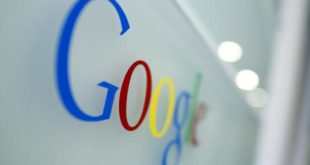 FILE - In this Tuesday, March 23, 2010, file photo, the Google logo is seen at the Google headquarters in Brussels. Google is celebrating Sigmund Freud's 160th birthday with a special doodle on May 6, 2016. (AP Photo/Virginia Mayo, File)